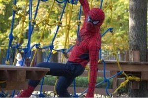 Детский день рождения в веревочном парке