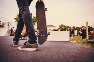 Конкурс мастерства на скейте