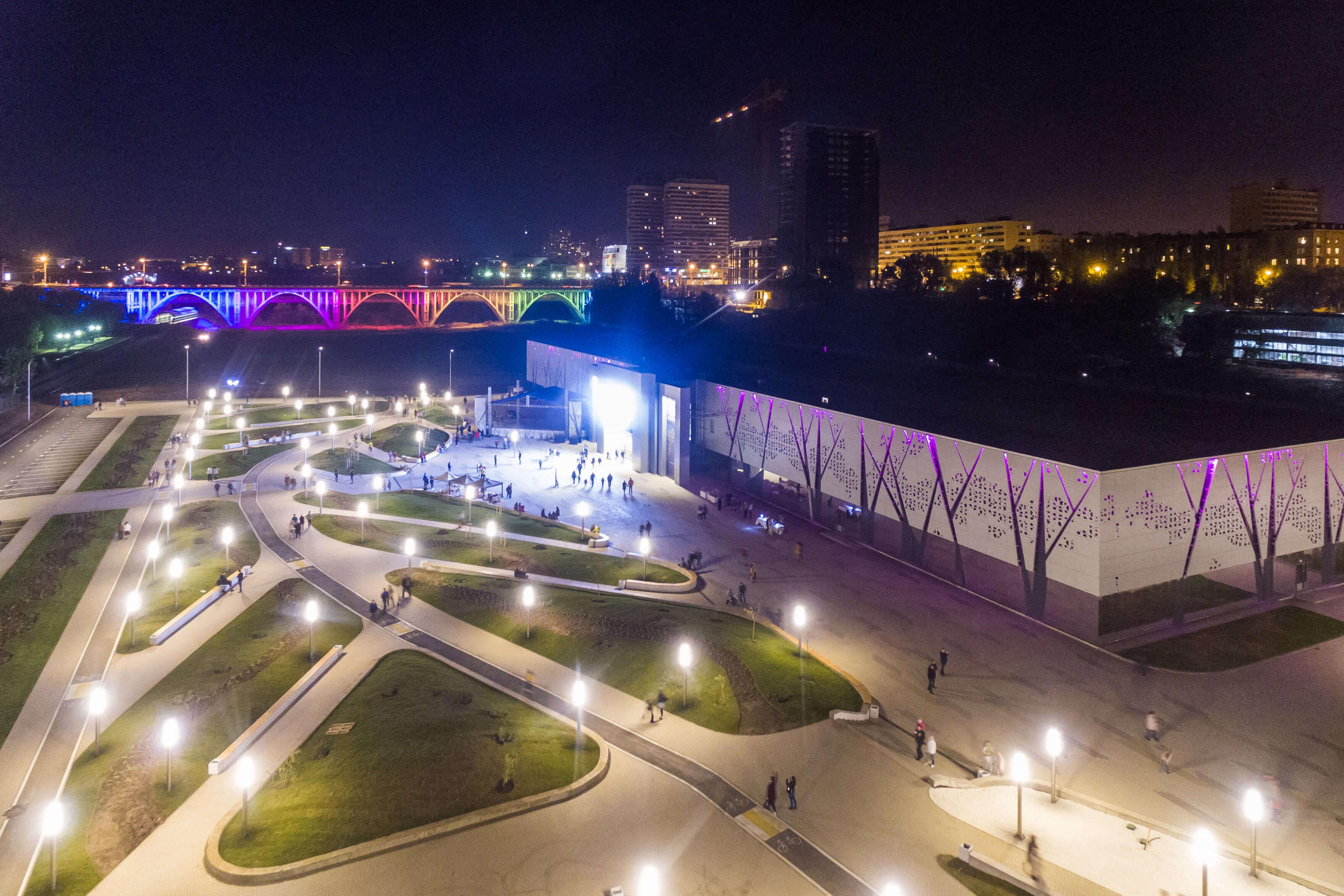 Территория раздолье - царицынский парк, интерактивный музей