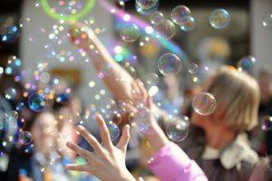 комната мыльных пузырей