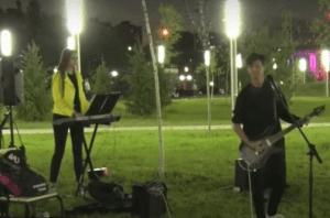 """Волгоградские студенты спели Rammstein в парке """"Раздолье"""""""