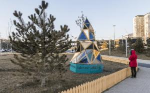 Техноелка, Рокстеди и фейерверк: смотрим, как готовят к Новому году парк «Раздолье»