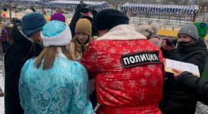 В Волгограде провели елку для детей с участием Полицейского Деда Мороза