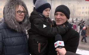 В Волгограде отпраздновали Рождество Христово
