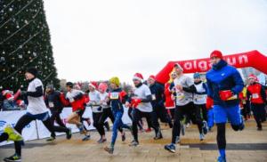 Волгоградцы поучаствовали в рождественском онлайн-забеге