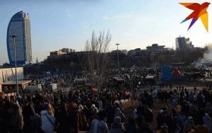 На Масленицу в пойме реки Царицы пришли 70 тысяч волгоградцев