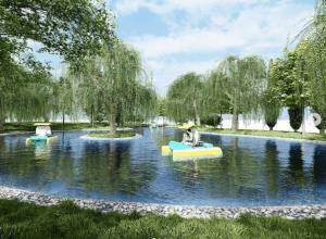 В ЦПКиО Волгограда сделают пруд с островком