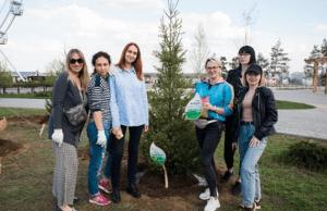 Центральный парк Волгограда при поддержке Сбербанка стал ещё более «зелёным»