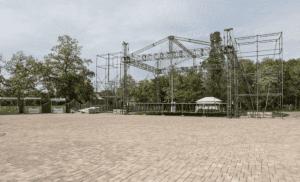 В ЦПКиО Волгограда возводят сцену для Ольги Бузовой и Клавы Коки