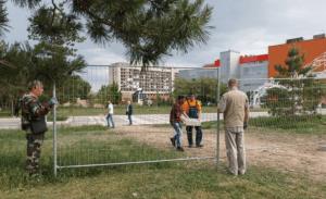В Волгограде ЦПКиО обнесли забором. Парк готовится встречать музыкальный фестиваль